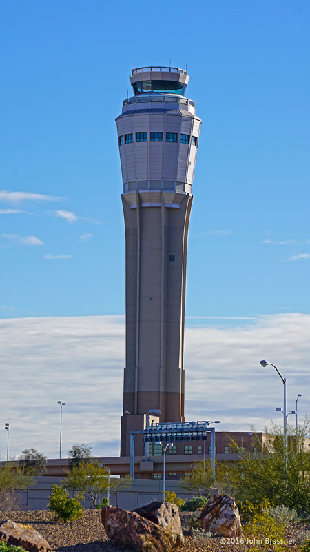 New Air Traffic Control Tower at McCarran Airport